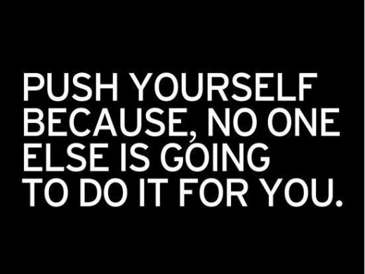 Motivation lies within you!