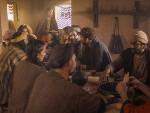 Jesus enjoyed fellowship with friends.