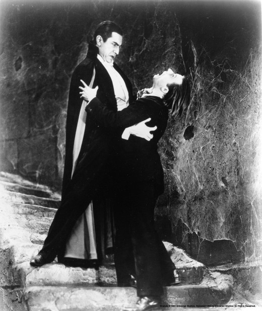 """Bela Lugosi portrayed a dapper, but devilish, Count Dracula in """"Dracula"""" (1931). Lugosi brought Broadway experience to the role."""