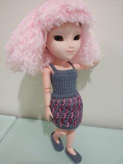 Makies Ballet Flats (Free Crochet Pattern)