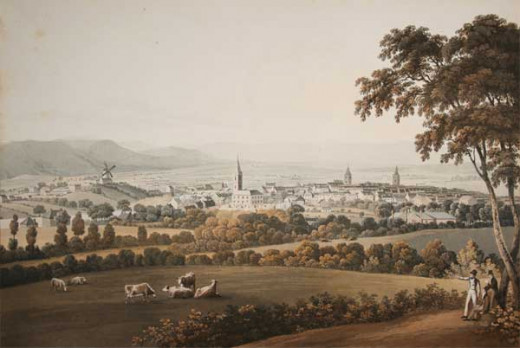 Dumfries from the Hillside