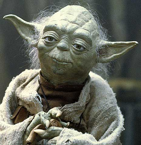 """If you end your training now, if you choose the quick and easy path as Vader did, you will become an agent of evil."" – Yoda to Luke in The Empire Strikes Back"