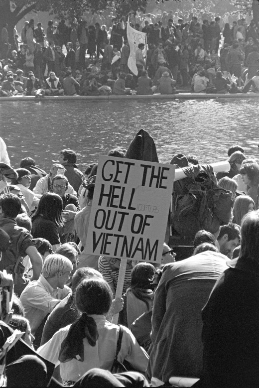 1967 Protest at the Pentagon.