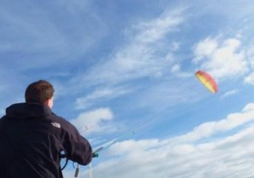 Powerkite flying
