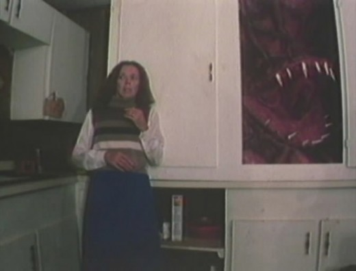 Mother is about to become lunch for the Abomination!!! (By far, one of the most annoyingly bad scenes ever caught on camera).