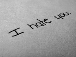 Hate me (Sonnet II)