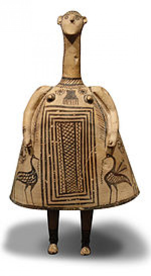 from a Theban workshop (Oinochoe type), 7th century BC