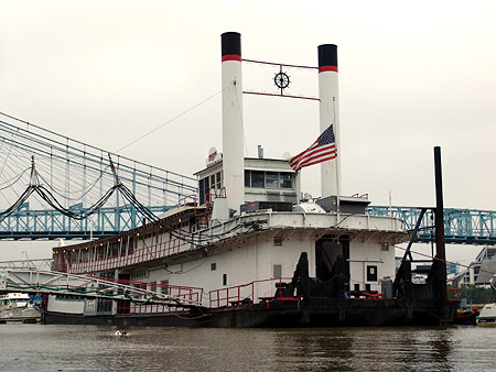 The Mike Fink Riverboat and Restaurant