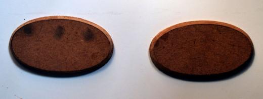 MD F oval shape tile