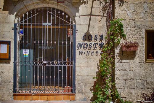 Wine bar in Malta