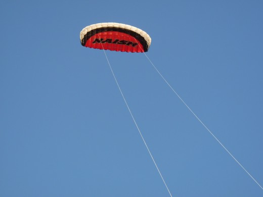 Small trainer kite