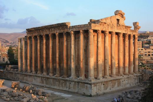 Temple of Bacchus, Ba'albek