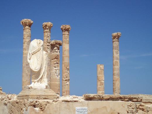Ruins in Sabratha