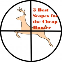 Best 3 Deer Rifle Scopes for Cheap: Under $100