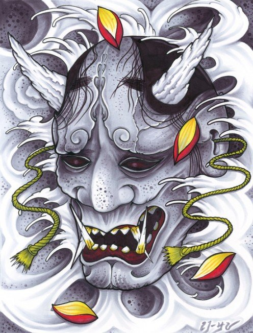 Japanese Hannya Tattoos: Origins, Meanings & Ideas | TatRing