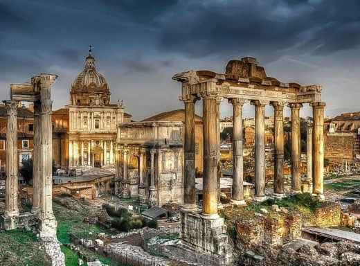 Places to Visit in Rome; Imperial Forums