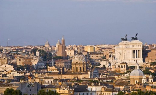 Places to visit in Rome; Janiculum Hill