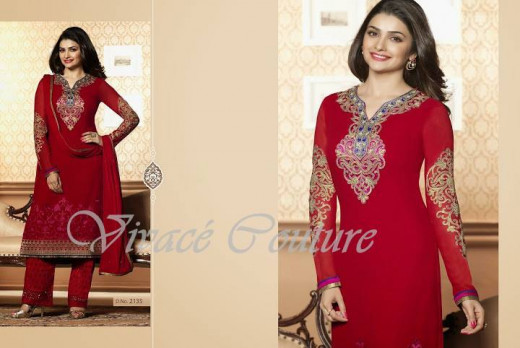 Gorgeous Red salwar suit