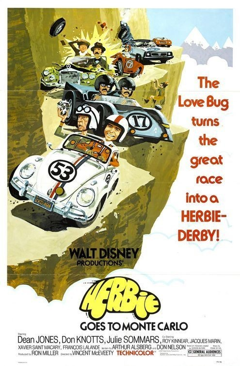 "Poster for ""Herbie Goes To Monte Carlo"""