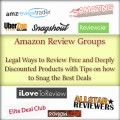 Amazon Review Groups: Legal Ways to Review Free and Deeply Discounted Products