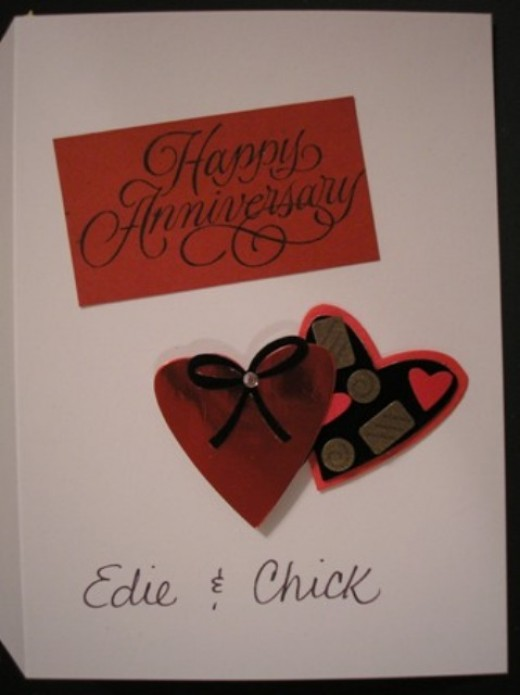 Anniversary Card in Box