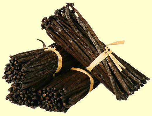 Vanilla beans bundles