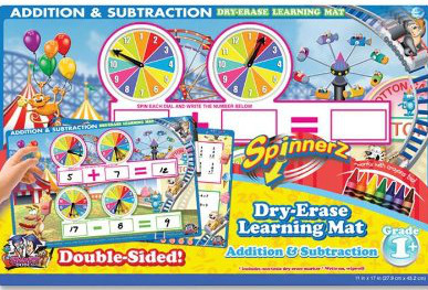 If you don't want to make your own math spin mat you can buy one