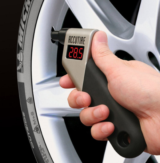 A digital pressure gauge is a must for car owners.