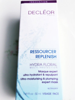 Skincare luxury no traveler should do without: Decleor Hydra Floral expert mask