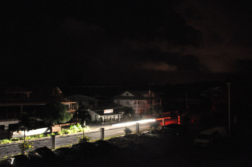 Power blackout, including the Joint Field Office