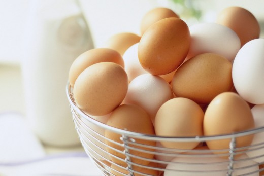 Both egg whites and the yolk have beneficial properties for skin, hair, and nails.