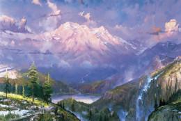 Thomas Kinkade Twilight Vista