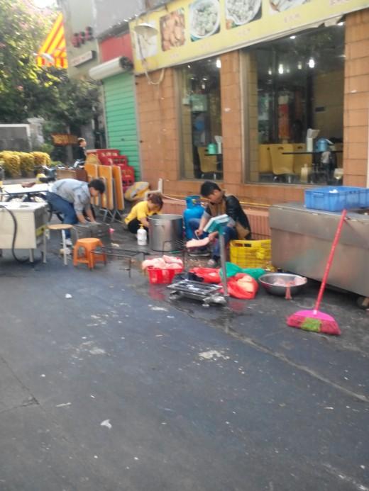 Street Scene, Shenzhen, China