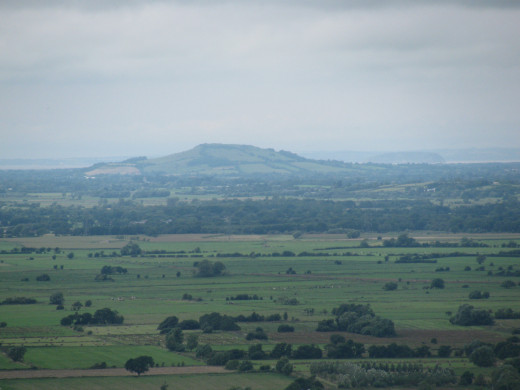 Somerset Levels, from Glastonbury Tor to Brean Down
