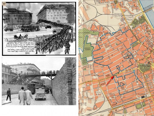 Warsaw Ghetto Boundaries