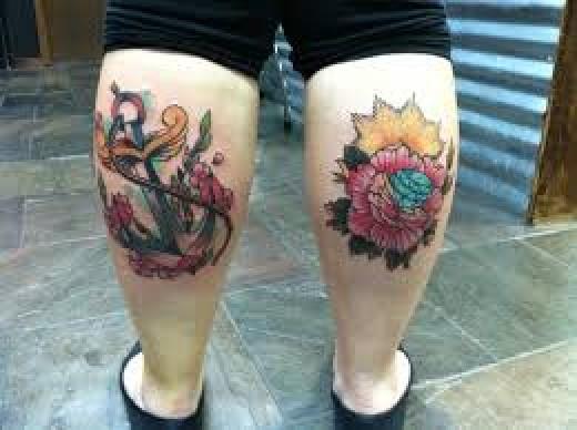 tatu-na-tele - Хорошие места для вашей первой татуировки -  - фото