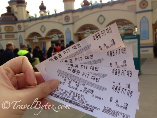 Remember to bring a printed copy of the Everland discount coupon for foreigners and present it at the ticketing counter to purchase the tickets at 32,000 won (approximately S$38) per adult instead of the usual price of 40,000 won.