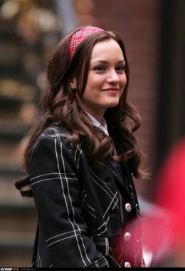 Leighton Meester in season 1 of Gossip Girl
