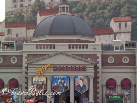 The K-Pop Hologram which plays the first ever hologram concert at Everland
