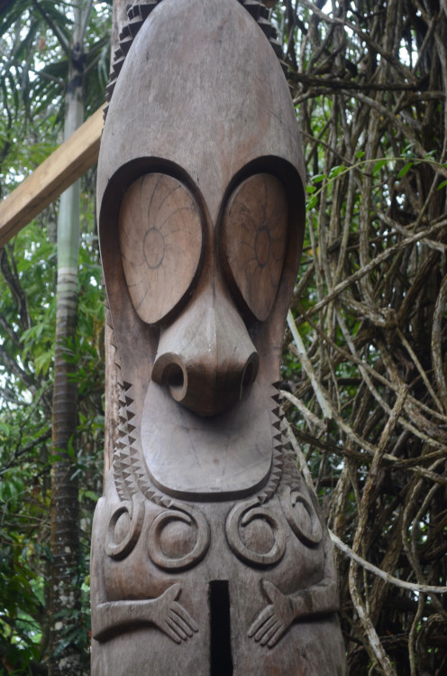 Traditional wooden carvings, Vanuatu (c) A. Harrison
