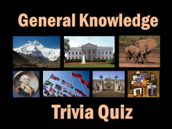 General Knowledge Trivia Quiz  2