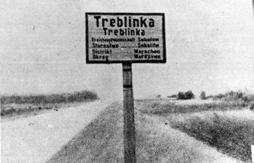 Treblinka Sign.