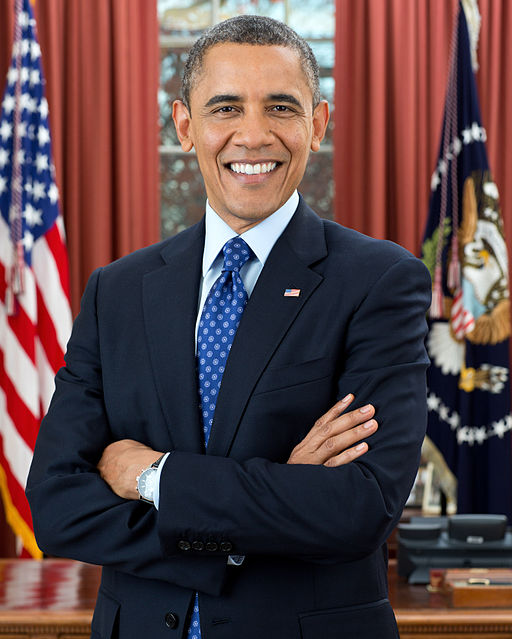President Barack father was a black while his mother was a caucasian