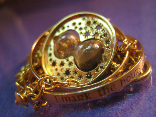 Timeturner necklace