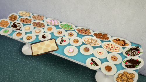 Opening a restaurant in your game?  You definitely need some deco food!