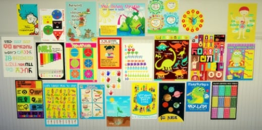 I first fell in love with Budgie's CC with this set; a cute collection of posters for Zerbu's Go To School mod.