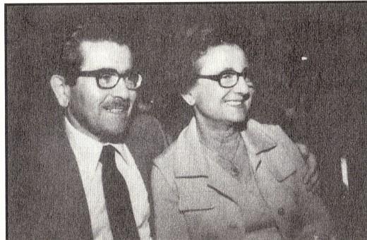 Wilhelm & Cesia Bachner in California 1977.