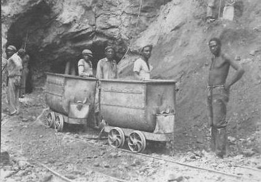 DeBeers Mine No.1 Shaft - Kimberley, South Africa