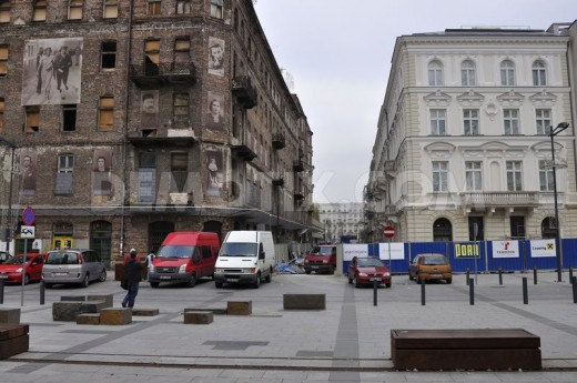 Warsaw remnants today.