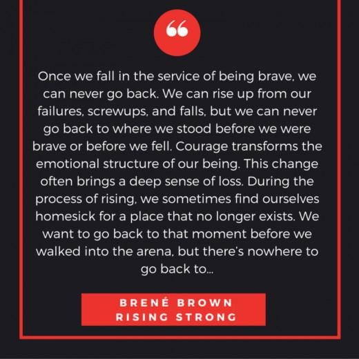 Dr. Brene Brown Rising Strong